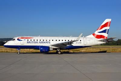 British Airways-BA CityFlyer Embraer ERJ 170-100STD G-LCYD (msn 17000294) ZRH (Rolf Wallner). Image: 913145.