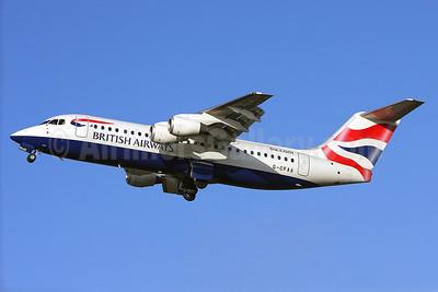 British Airways-BA CityFlyer BAe RJ100 (146-RJ100) G-CFAA (msn E3373) (Keith Burton). Image: 906144.