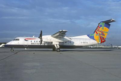 British Airways-Brymon Airways de Havilland Canada DHC-8-311 Dash 8 G-BRYV (msn 462) (Colum - Dove - Ireland) CDG (Christian Volpati). Image: 955062.
