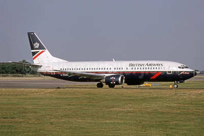 British Airways-GB Airways Boeing 737-4Q8 G-BNNL (msn 24070) LGW (SPA). Image: 952885.
