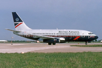 British Airways-GB Airways Boeing 737-236 G-BGDS (msn 21806) LHR (SPA). Image: 952883.