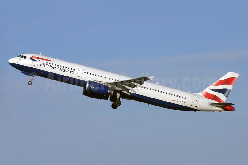 British Airways-GB Airways Airbus A321-231 G-TTIB (msn 1433) LGW (Antony J. Best). Image: 902034.