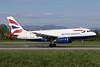 British Airways Airbus A319-131 G-EUOF (msn 1590) BSL (Paul Bannwarth). Image: 922838.