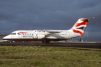 British Airways BAe 146-200 G-GNTZ (msn E2036) CDG (Christian Volpati). Image: 932784.