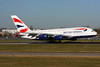 British Airways Airbus A380-841 G-XLEL (msn 215) LHR (SPA). Image: 935797.