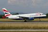 British Airways Airbus A319-131 G-EUOC (msn 1537) BSL (Paul Bannwarth). Image: 931158.