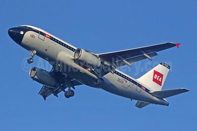 BEA - British Airways Airbus A319-131 G-EUPJ (msn 1232) LHR (SPA). Image: 947983.