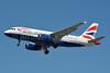 British Airways Airbus A319-131 G-DBCA (msn 2098) LHR (Jay Selman). Image: 402645.