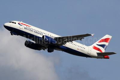 British Airways Airbus A320-232 G-EUYJ (msn  4464) LHR (SPA). Image: 935186.