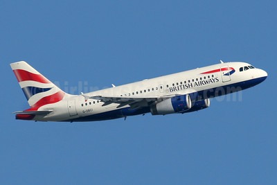 British Airways Airbus A319-131 G-DBCI (msn 2720) LHR (SPA). Image: 941554.