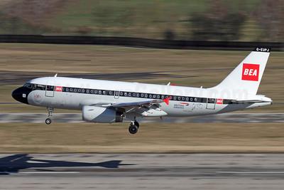 BEA - British Airways Airbus A319-131 G-EUPJ (msn 1232) ZRH (Andi Hiltl). Image: 945886.