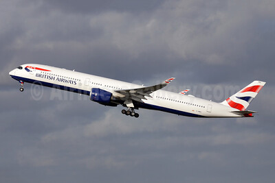 First BA A350-1000, delivered on July 26, 2019