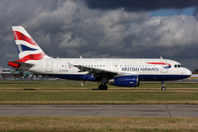 British Airways Airbus A319-131 G-EUOG (msn 1594) LHR. Image: 931161.