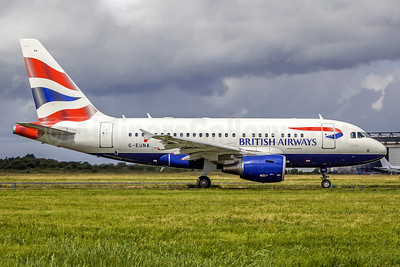 British Airways Airbus A318-112 G-EUNA (msn 4007) SNN (SM Fitzwilliams Collection). Image: 921118.