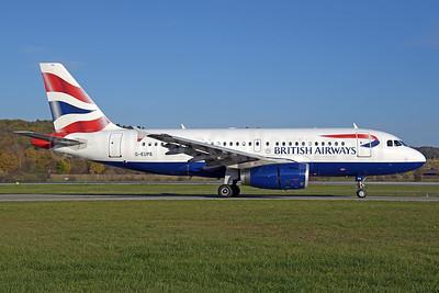 British Airways Airbus A319-131 G-EUPS (msn 1338) ZRH (Rolf Wallner). Image: 939760.