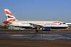 British Airways Airbus A319-131 G-EUOD (msn 1558) LHR. Image: 926742.