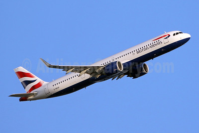 British Airways Airbus A321-251NX WL G-NEOP (msn 8469) LHR (SPA). Image: 947223.