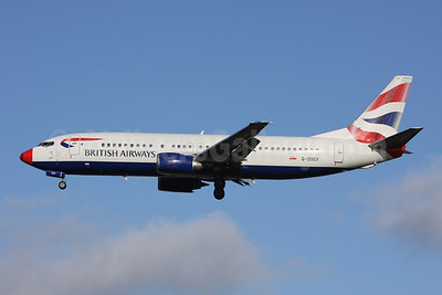 Type Retired: G-DOCX operated the last BA 737 flight on September 30, 2015