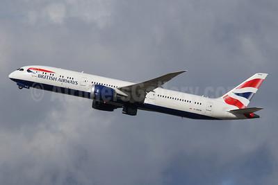 British Airways Boeing 787-9 Dreamliner G-ZBKM (msn 38629) LHR (SPA). Image: 944862.