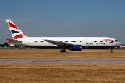 British Airways Boeing 767-336 G-BNWB (msn 24334) LHR. Image: 936411.
