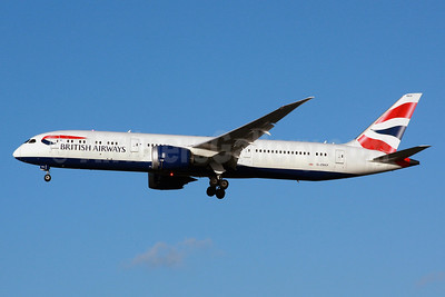 British Airways Boeing 787-9 Dreamliner G-ZBKP (msn 38632) LHR (SPA). Image: 940677.
