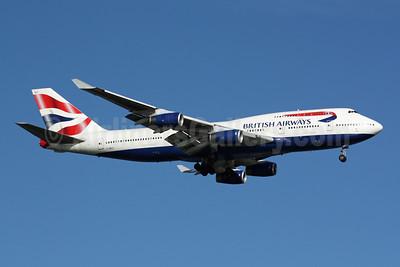 British Airways Boeing 747-436 G-BNLF (msn 24048) SIN (Michael B. Ing). Image: 902029.