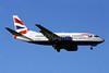 British Airways Boeing 737-5H6 G-GFFH (msn 27354) ZRH (Paul Denton). Image: 910113.