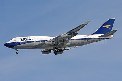BOAC (British Airways) Boeing 747-436 G-BYGC (msn 25823) (British Airways 100 1919-2019) IAD (Brian McDonough). Image: 945751.