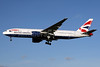 British Airways Boeing 777-236 ER G-YMMK (msn 30312) LHR (SPA). Image: 931055.