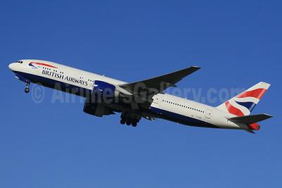 British Airways Boeing 777-236 ER G-VIID (msn 27486) LHR (SPA). Image: 940307.