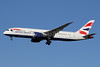 British Airways Boeing 787-8 Dreamliner G-ZBJI (msn 60626) LHR (SPA). Image: 940955.