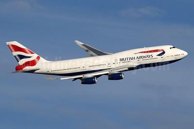 British Airways Boeing 747-436 G-CIVY (msn 28853) LHR (SPA). Image: 936271.