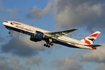British Airways Boeing 777-236 ER G-VIIE (msn 27487) LHR (SPA). Image: 936782.