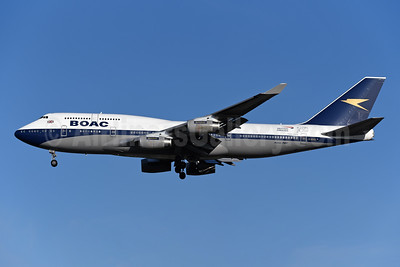 BOAC (British Airways) Boeing 747-436 G-BYGC (msn 25823) (British Airways 100 1919-2019) LHR (Rolf Wallner). Image: 948885.