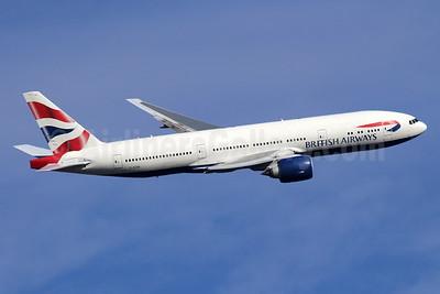 British Airways Boeing 777-236 G-ZZZB (msn 27106) LHR (SPA). Image: 936423.