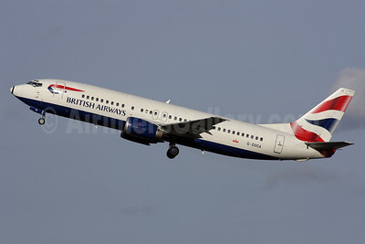 British Airways Boeing 737-436 G-DOCA (msn 25267) LGW (Antony J. Best). Image: 902027.