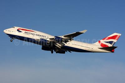 British Airways Boeing 747-436 G-CIVR (msn 25820) LHR (SPA). Image: 924566.