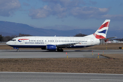 British Airways Boeing 737-436 G-DOCY (msn 25844) GVA (Paul Denton). Image: 908356.