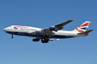 British Airways Boeing 747-436 G-CIVR (msn 25820) LHR (Jay Selman). Image: 403390.