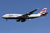 British Airways Boeing 747-436 G-BNLI (msn 24051) (Oneworld) IAD (Brian McDonough). Image: 902493.