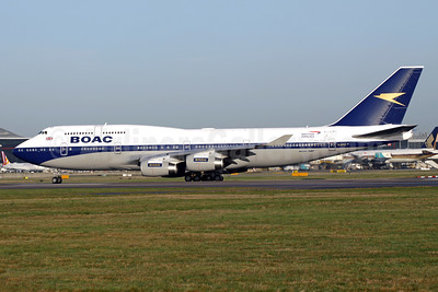 BOAC (British Airways) Boeing 747-436 G-BYGC (msn 25823) (British Airways 100 1919-2019) LHR (Antony J. Best). Image: 945750.