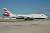 British Airways Boeing 747-436 G-BNLF (msn 24048) MIA (Bruce Drum). Image: 100542.