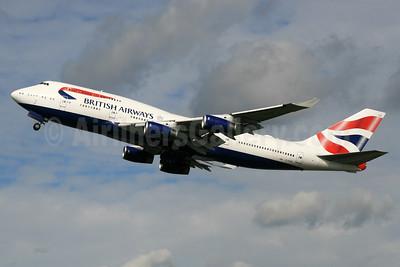 British Airways Boeing 747-436 G-CIVG (msn 25813) LHR (SPA). Image: 936261.