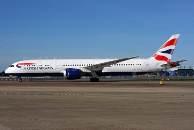 British Airways Boeing 787-9 Dreamliner G-ZBKJ (msn 38626) LHR. Image: 937365.