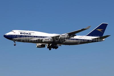 BOAC (British Airways) Boeing 747-436 G-BYGC (msn 25823) (British Airways 100 1919-2019) LAX (Michael B. Ing). Image: 945777.