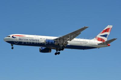 British Airways Boeing 767-336 G-BNWB (msn 24334) LHR (Jay Selman). Image: 403389.