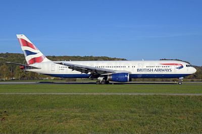British Airways Boeing 767-336 ER G-BNWX (msn 25832) ZRH (Rolf Wallner). Image: 939550.
