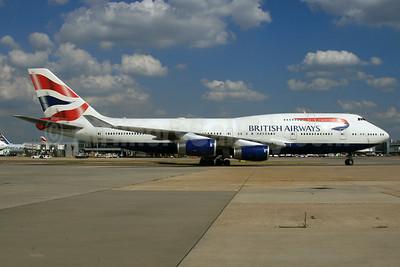 British Airways Boeing 747-436 G-CIVJ (msn 25817) LHR. Image: 935185.