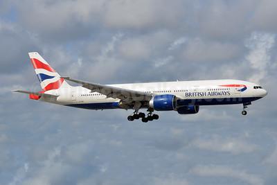 British Airways Boeing 777-236 ER G-VIIR (msn 29322) FLL (Bruce Drum). Image: 105013.