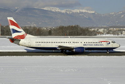 British Airways Boeing 737-436 G-GBTB (msn 25860) GVA (Paul Denton). Image: 923017.